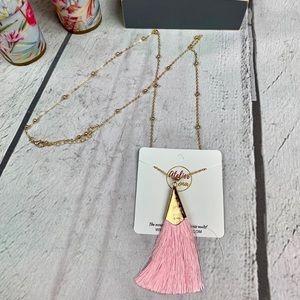 FRINGE FAN TASSEL Necklace Spring,Summer, vacation